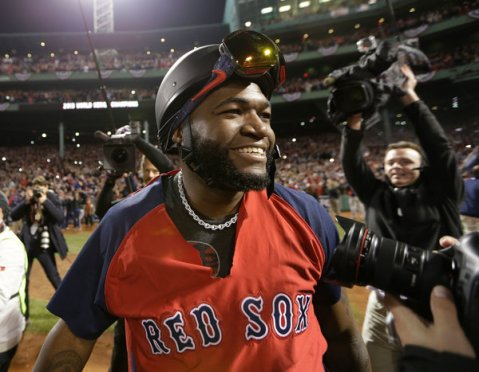 David Ortiz certainly has a case to be compared to Reggie Jackson. (Via AP)