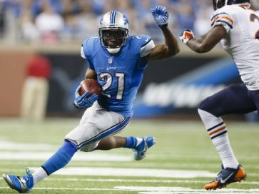 Reggie Bush has been a great fit in Detroit's offense (Via USA Today Sports)
