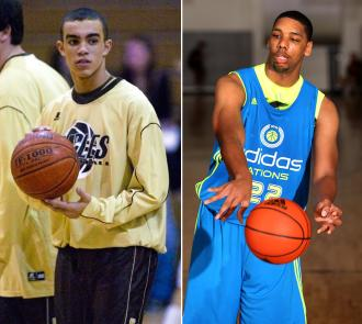 Tyus Jones and Jahlil Okafor made a splash and signed with Duke (Via Adidas and AP)