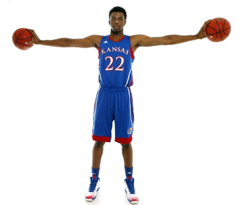 Andrew Wiggins will take this season to prove that he is the real deal (Via Jeff Jacobsen/Kansas Athletics)
