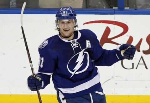 Steven Stamkos has been on fire this season, and has no plans of slowing down (Via Hockey World Blog)