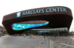 Barclays Center will be the site for this Friday's showdown between Maryland and UConn. (Via AP)