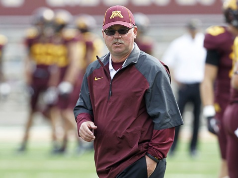 Jerry Kill has done a fantastic job in the Twin Cities (Via AP)