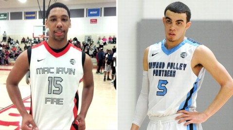 Jahlil Okafor and Tyrus Jones both chose Duke on Friday (Via ESPN, IconSMI)
