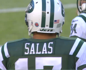 Salas has come out of nowhere for the Jets this season, and should be carefully watched by owners (Via Fox)
