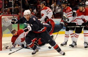 Zach Parise hopes to lead Team USA to a gold medal this year (via NHL)
