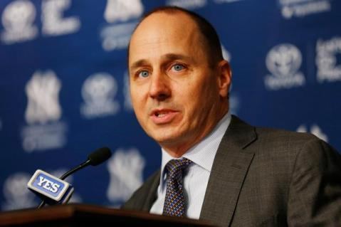 Yankees GM Brian Cashman has put together another contender in 2014 (Via Getty Images)