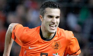 Robin Van Persie leads a Netherlands squad into this year's World Cup (Via AP)