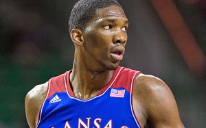 Look for Joel Embiid to go in that 3-6 range in tonight's NBA Draft (Via USA Today)