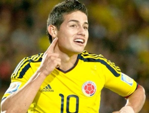 James Rodriguez made an impact on the World Cup and now will hope to do the same in La Liga (Via Goal News)