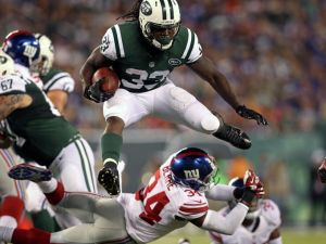 Although he's the backup, Chris Ivory is a threat on the ground that the Jets can use this season (Via USA Today)