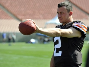 Johnny Manziel hopes to make this a huge rookie season (Via USA Today)