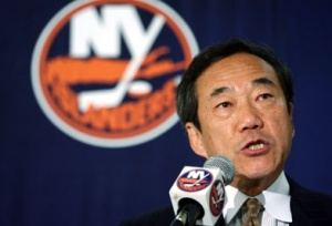 Charles Wang has owned the Islanders for the last 14 years before selling the team yesterday (Via Getty)