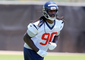 Jadeveon Clowney hopes to have a huge rookie season for the Houston Texans (Via ThaCover)