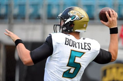Blake Bortles heads into San Diego for his first career start at quarterback (Via Fansided)