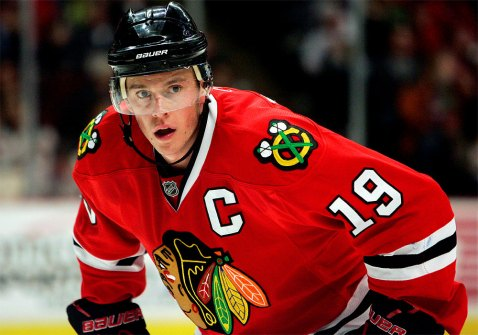 Jonathan Toews will lead his team to a Stanley Cup win this season. (Via SM Sports)