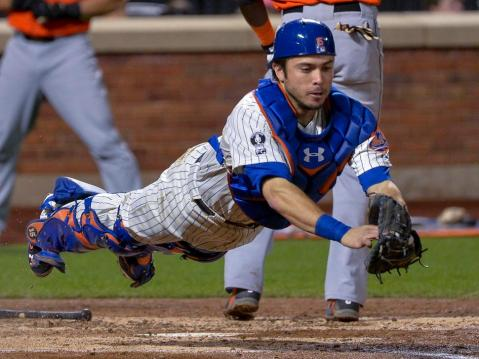 Travis d'Arnaud and the Mets have a bright future ahead of them (Via NYDN)