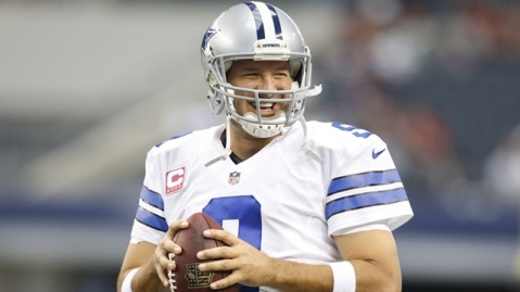 Tony Romo hopes to beat the Seahawks this week (Via AP)