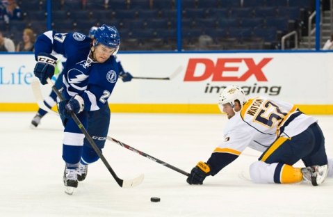 Jonathan Drouin hopes to make a huge impact in his rookie season. (Via USA Today)