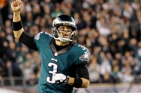 Mark Sanchez hopes to continue the Eagles winning ways this week in Green Bay (Via USA Today)