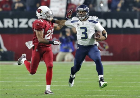 Russell Wilson stepped up against the Cardinals in week 16 (Via AP)