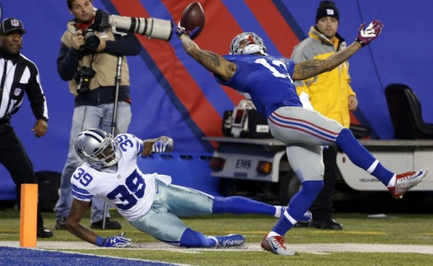 Odell Beckham is well on his way to the rookie of the year honor (Via The Big Lead)