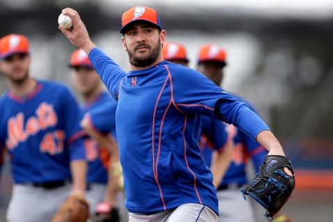 Matt Harvey is back and is ready to make 2015 a year to remember for the Mets (Via AP)