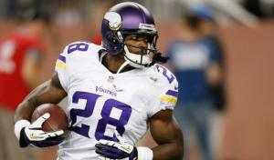 Adrian Peterson looks to get back on track (Via Fantasy Pros)