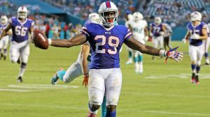 Karlos Williams has done a great job taking over for LeSean McCoy (Via Miami Herald)